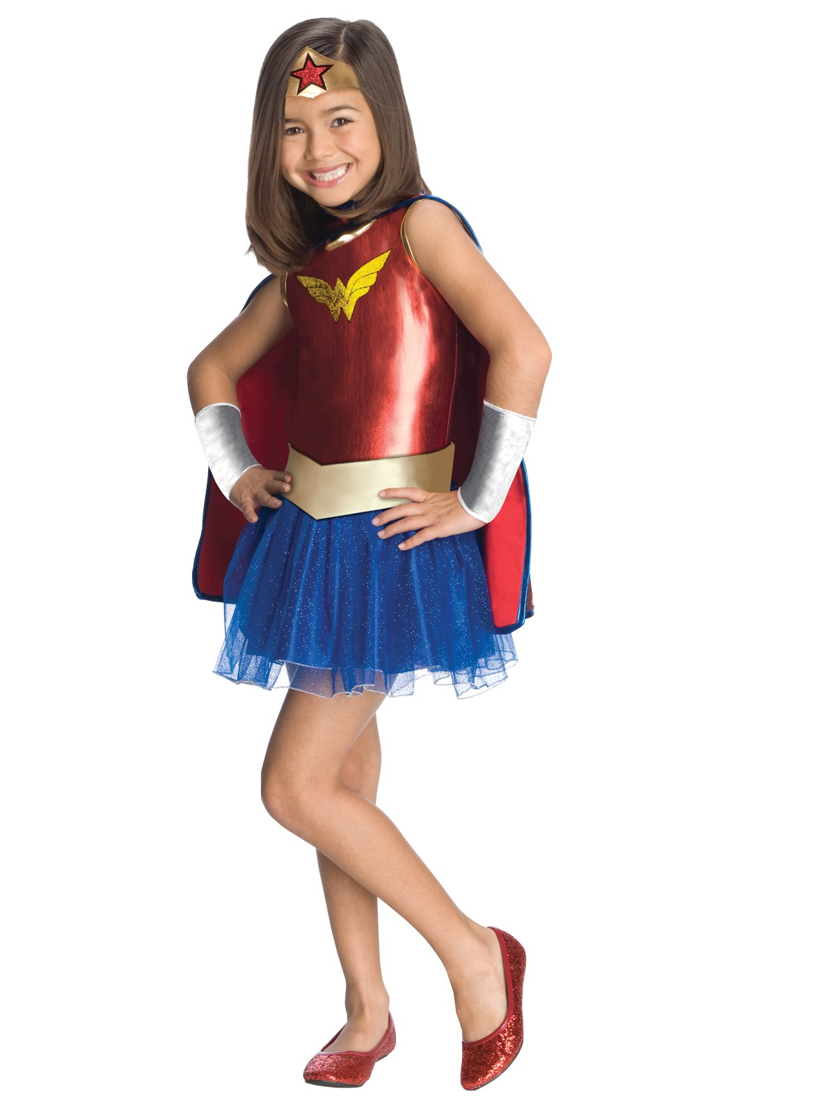 Wonder Woman Tutu Kids Costume Medium (8-10)