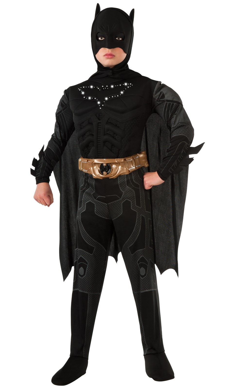 The Dark Knight Rises Batman Light-Up Kids Costume Small (4-6)