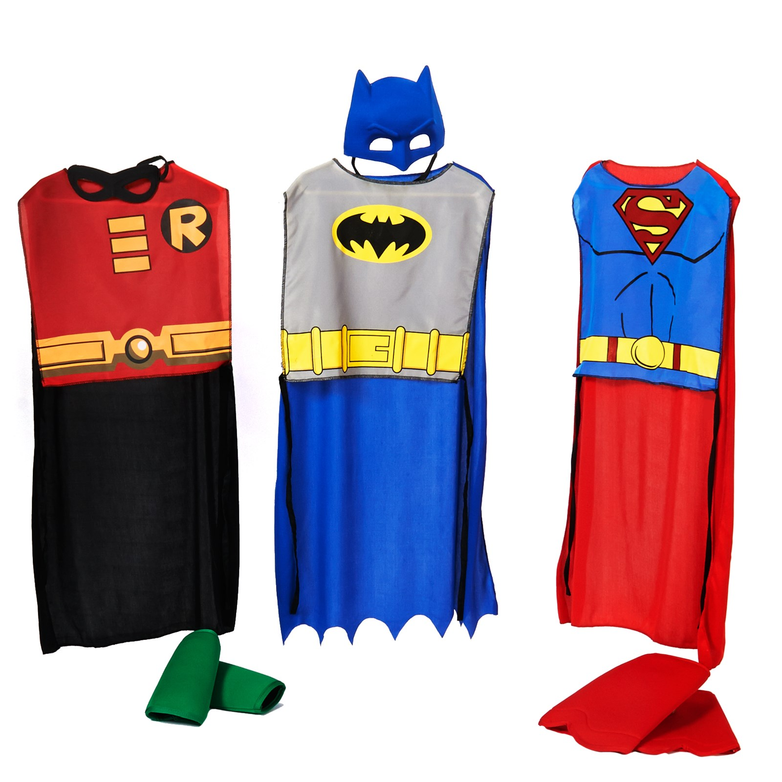 DC Comics Action Trio Kids Costume Kits One-Size