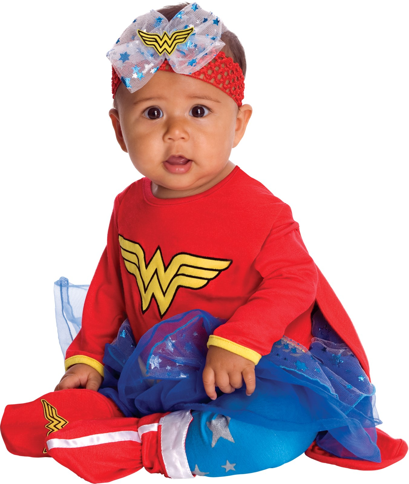 Wonder Woman Onesie Infant Costume 0-6 Months