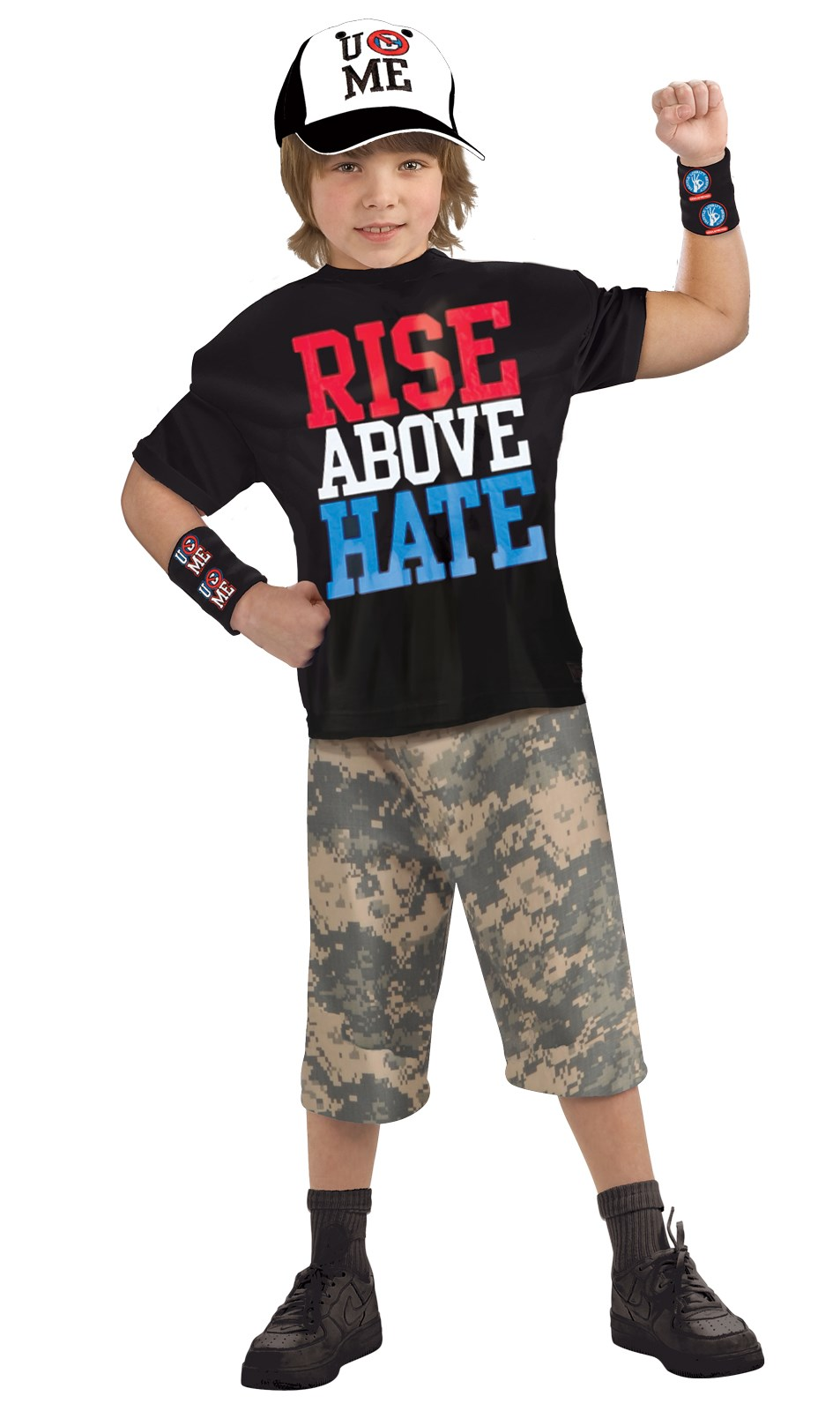 WWE John Cena Muscle Chest Kids Costume Medium (8-10)