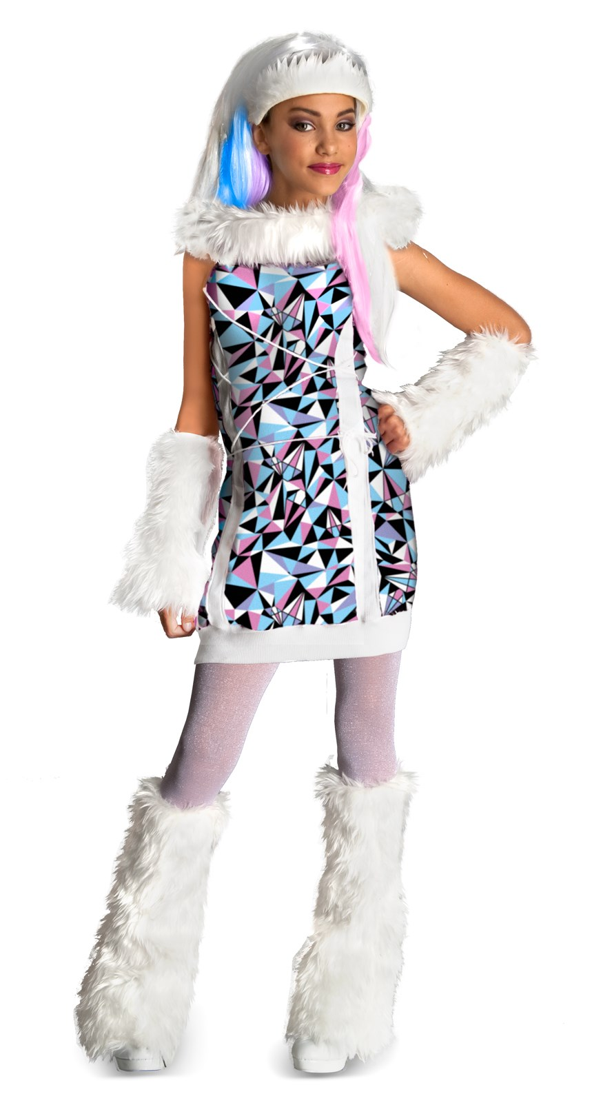 Monster High Abbey Bominable Kids Costume Large (12-14)