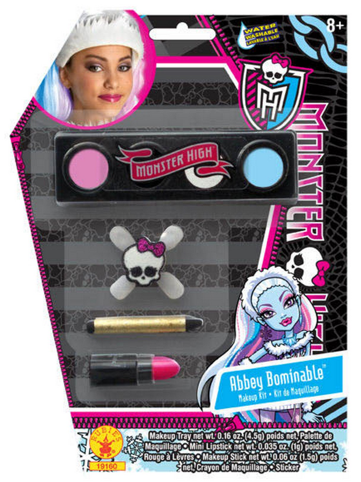 Monster High Abbey Bominable Makeup Kit One-Size