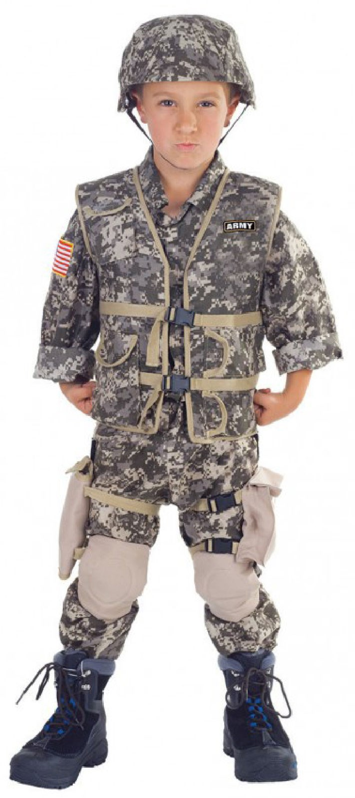 U.S. Army Ranger Deluxe Child Costume 10-12