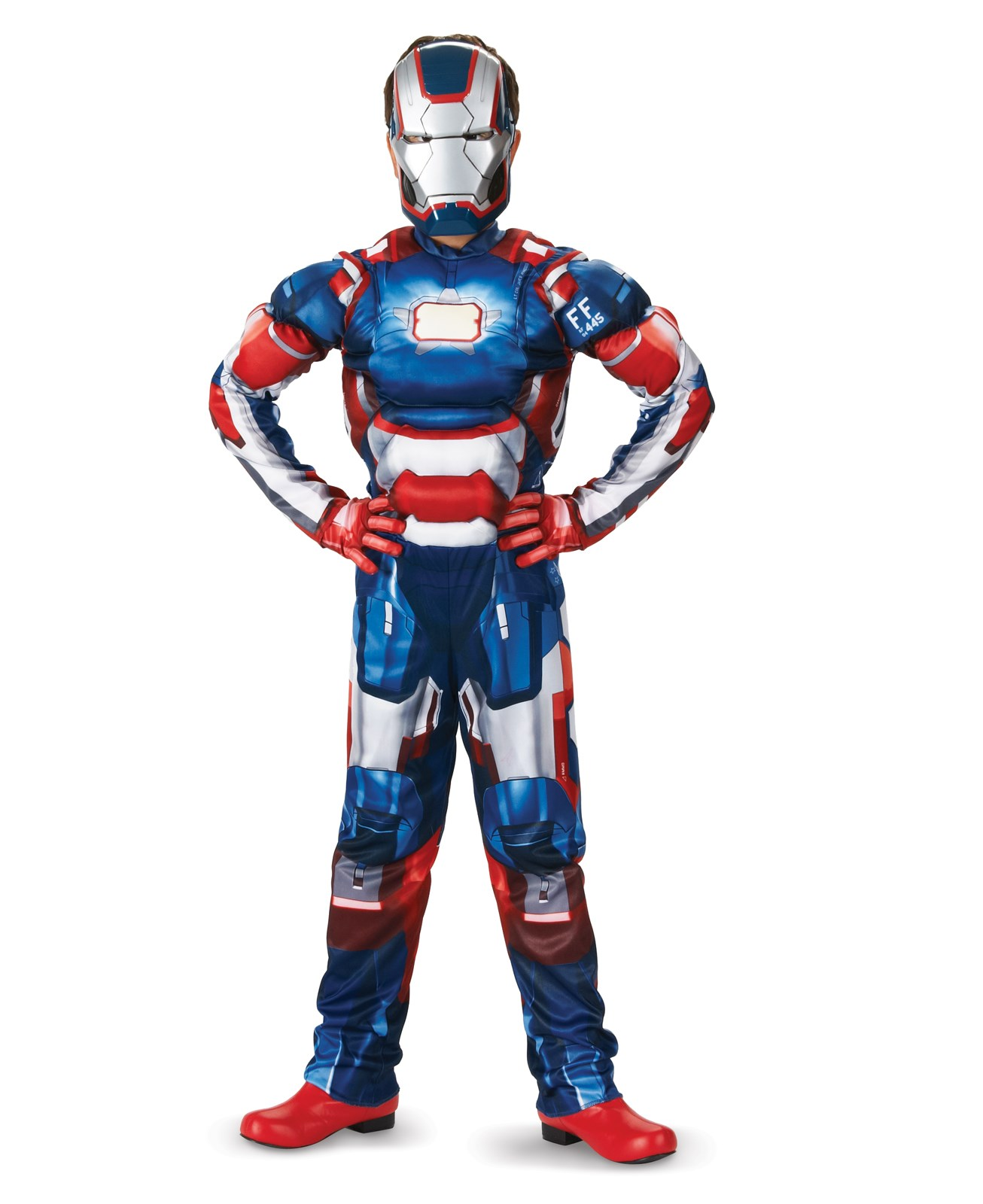 Iron Man 3 Patriot Classic Muscle Toddler / Child Costume Large (10-12)
