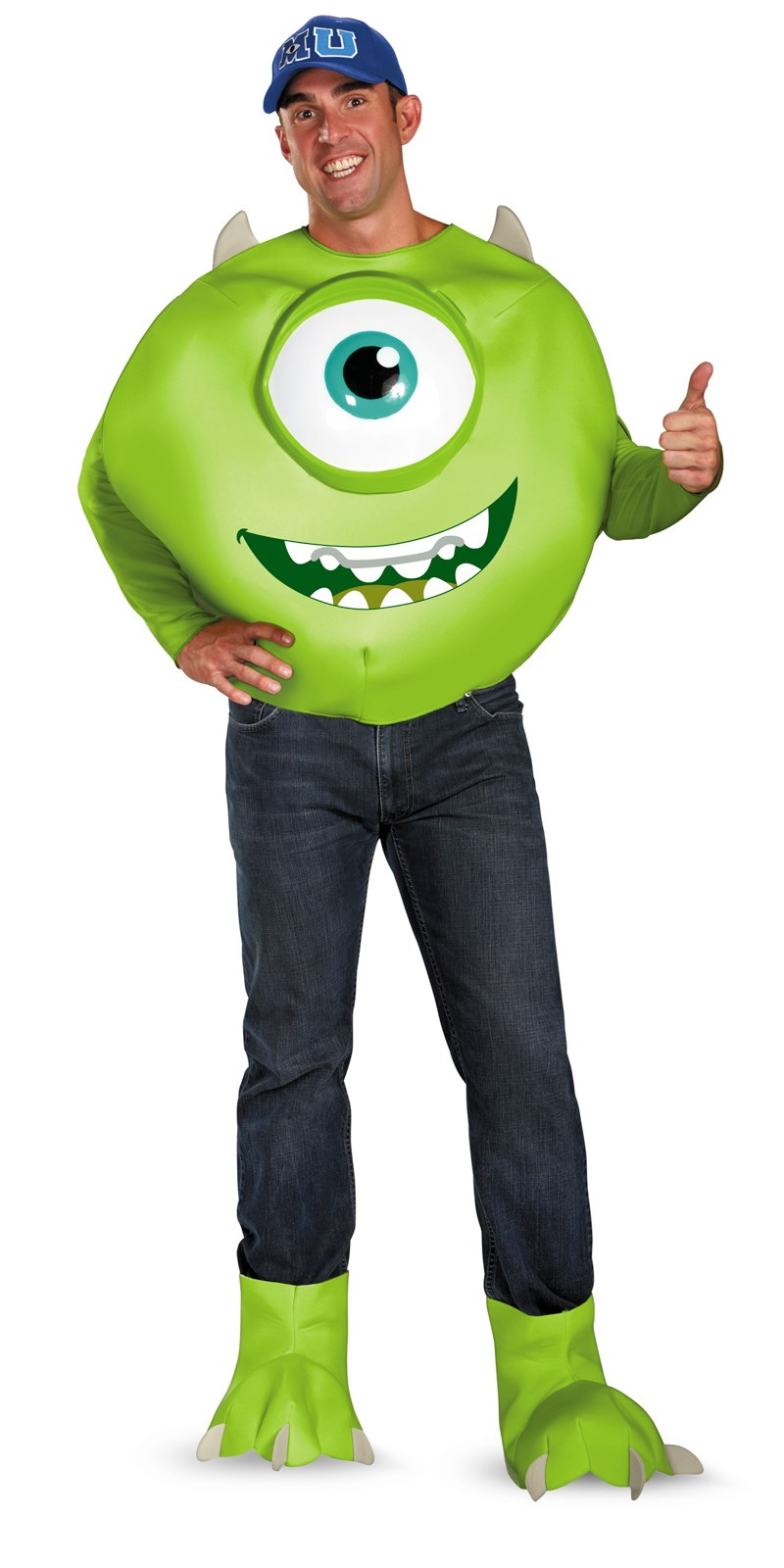 Monsters University Mike Deluxe Adult Costume X-Large (42-46)