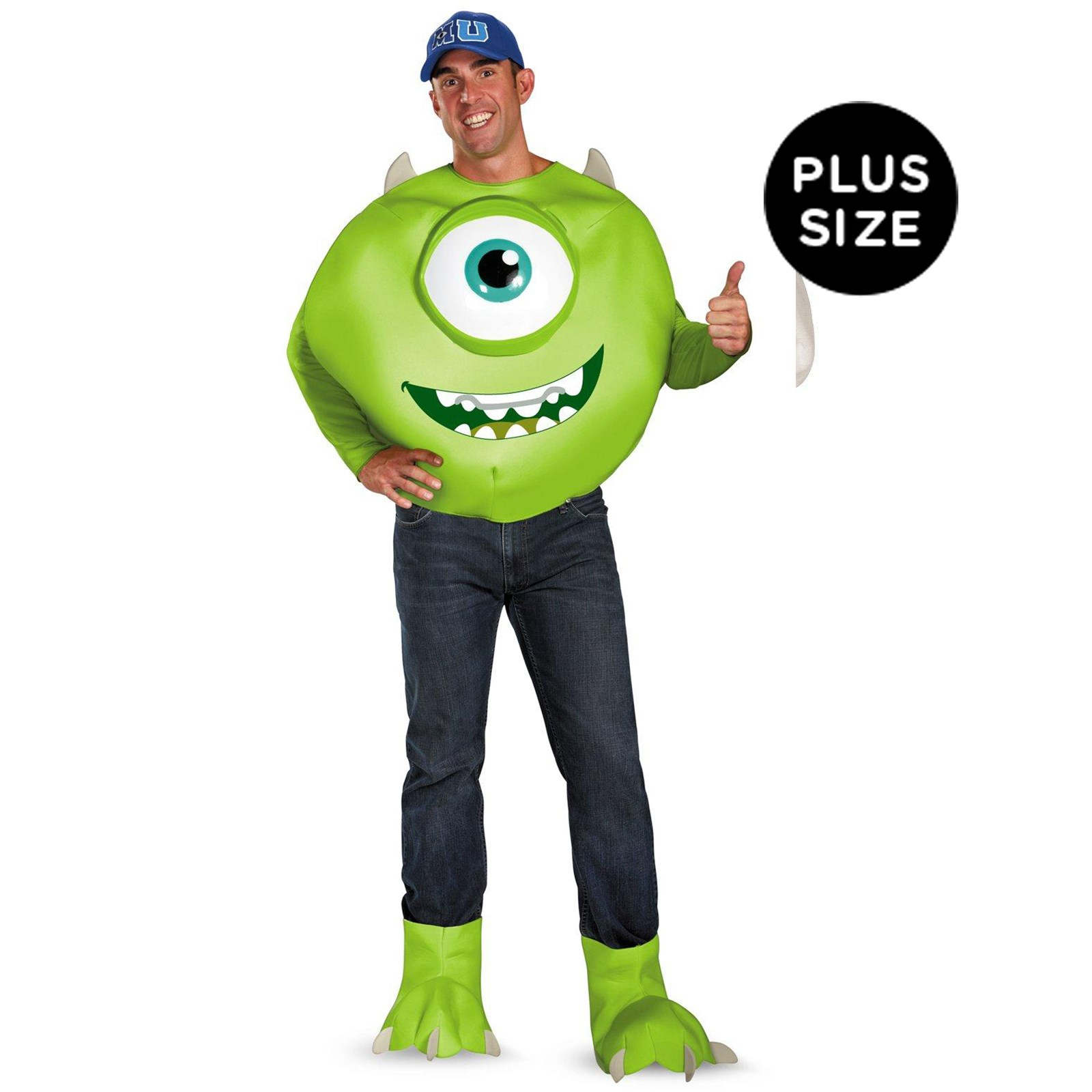 Monsters University Mike Deluxe Plus Adult Costume XX-Large (50-52)