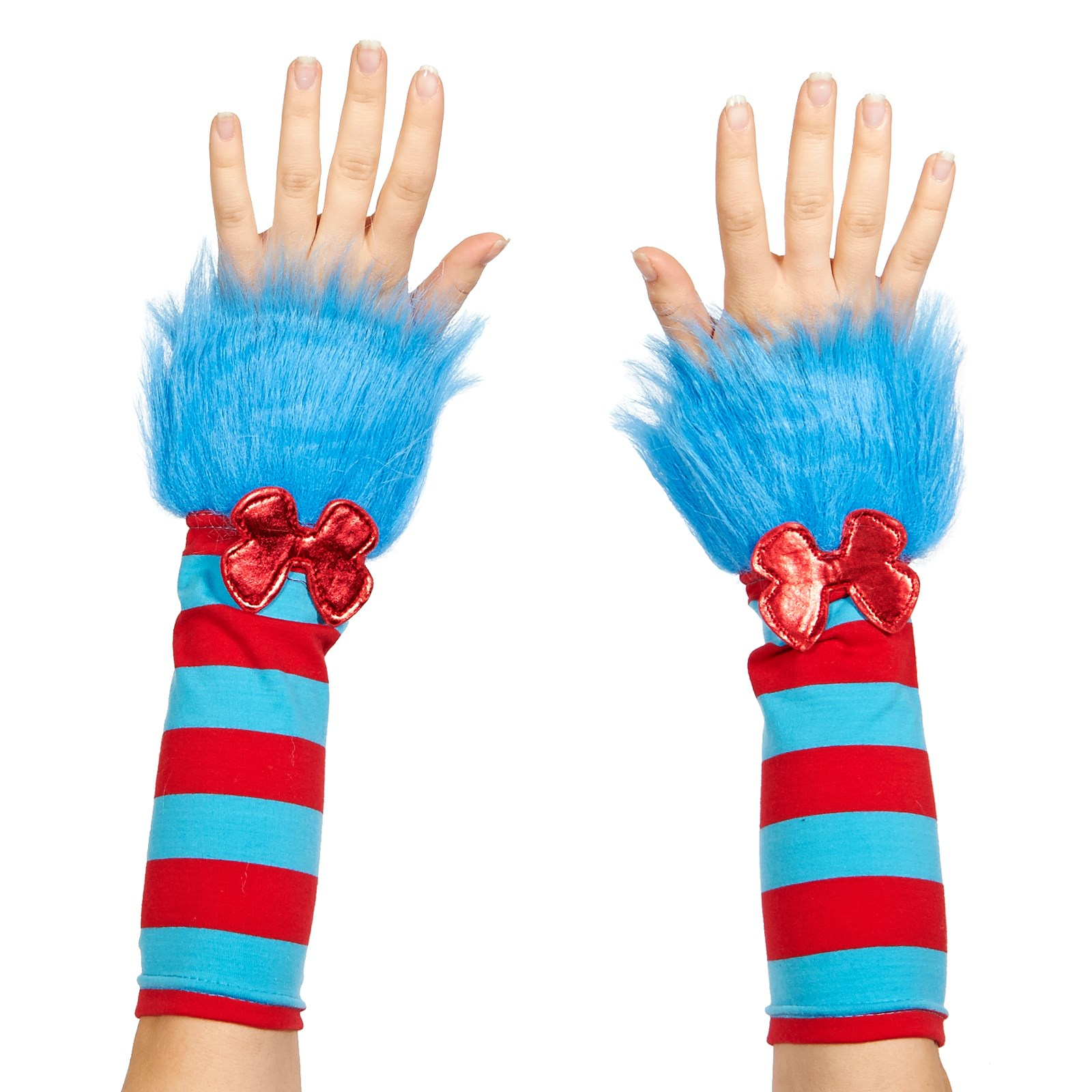 Cat In The Hat Thing 1 And Thing 2 Fuzzy Glovettes One-Size