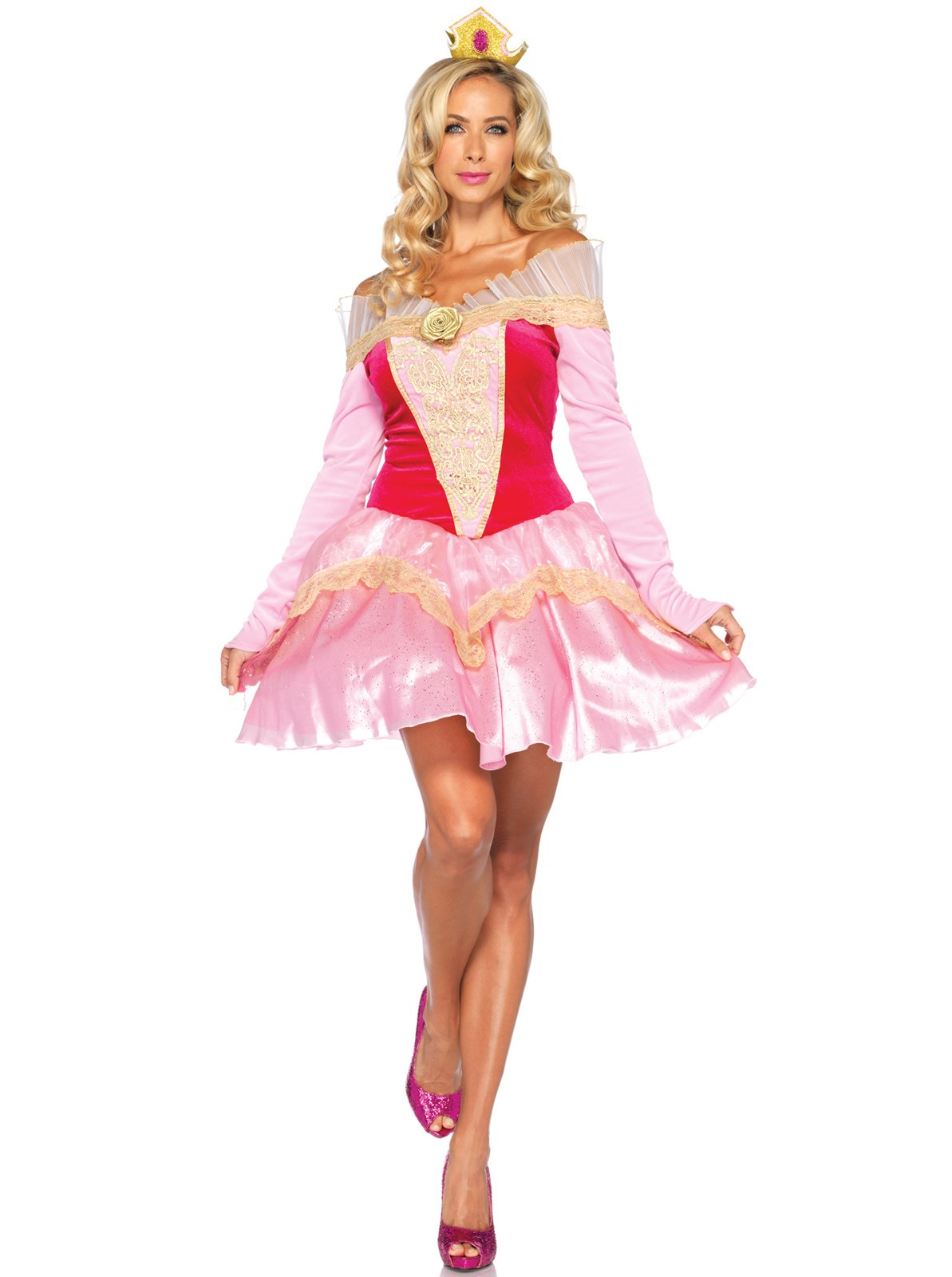 Disney Princesses Princess Aurora Adult Costume Small (4-6)