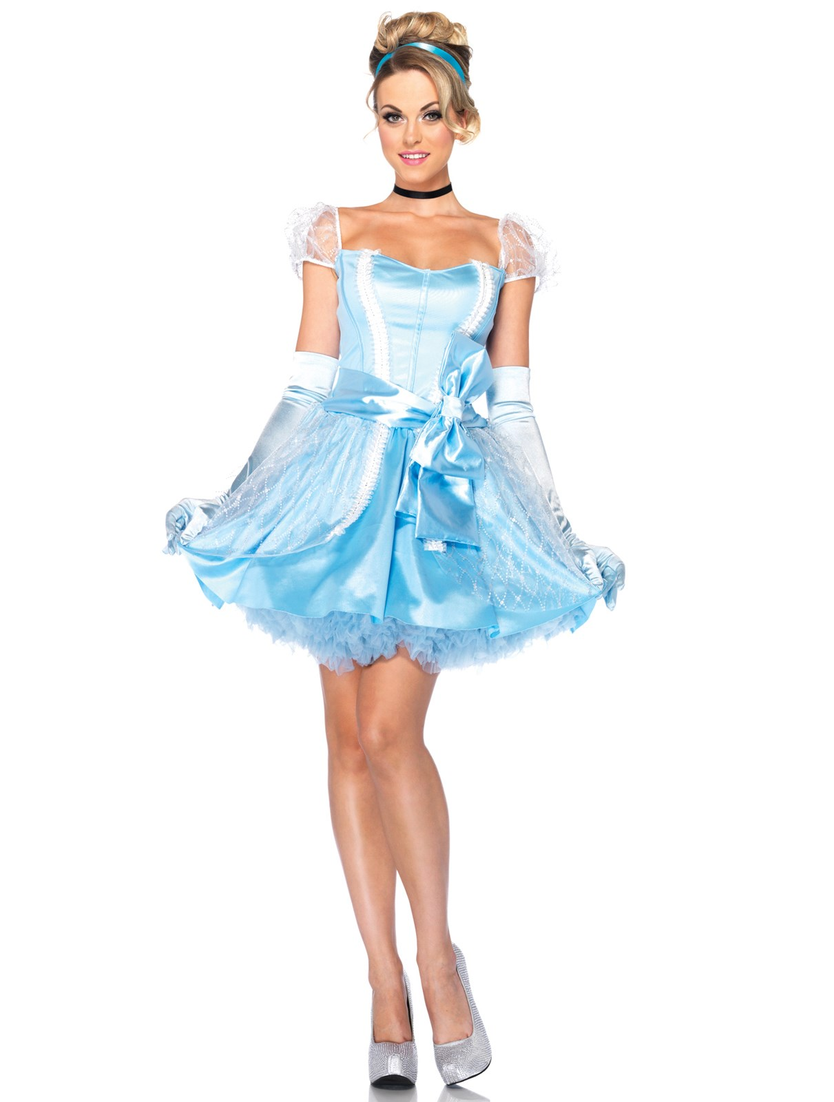 Disney Princesses Glass Slipper Cinderella Adult Costume Small (4-6)