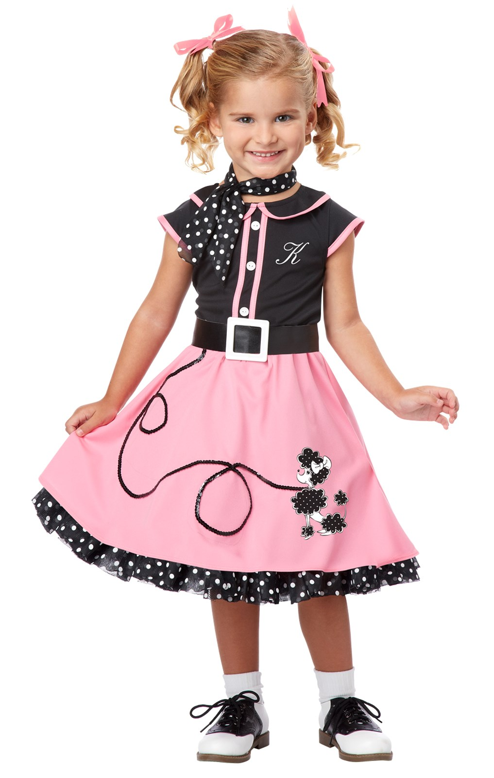 50s Poodle Cutie Toddler / Child Costume Toddler (3T-4T)