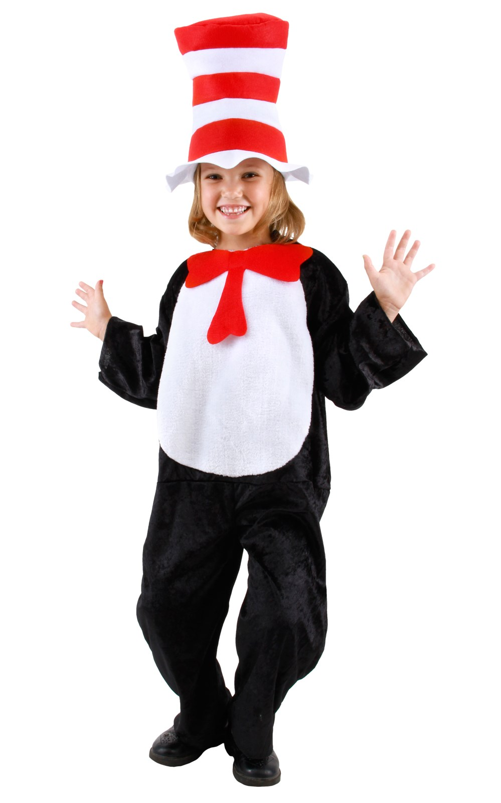 Dr. Seuss - Cat In The Hat Child Costume 2T-4T