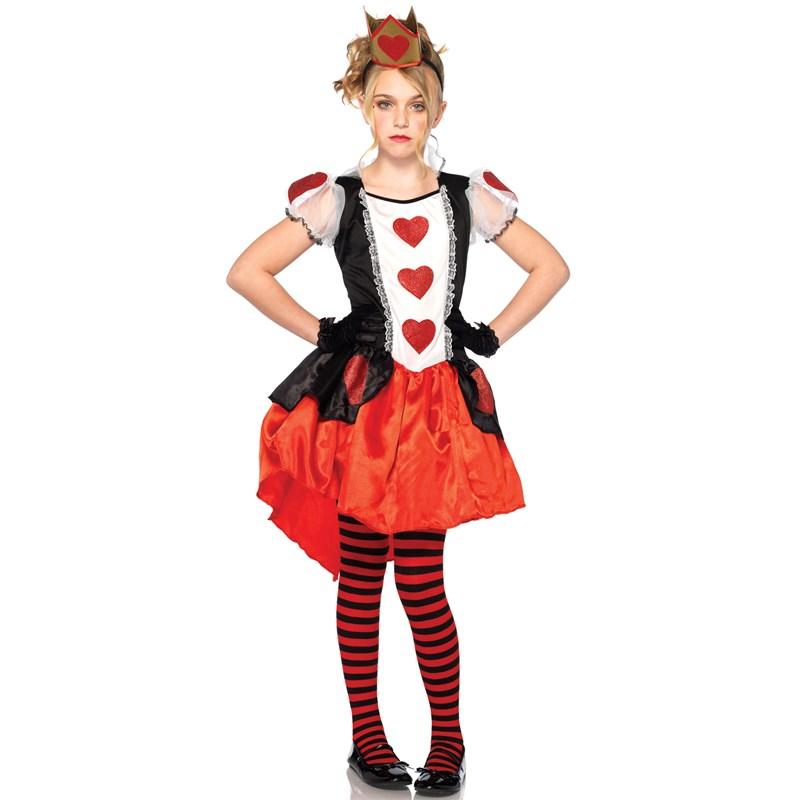 Wonderland Queen Child Costume 4-6