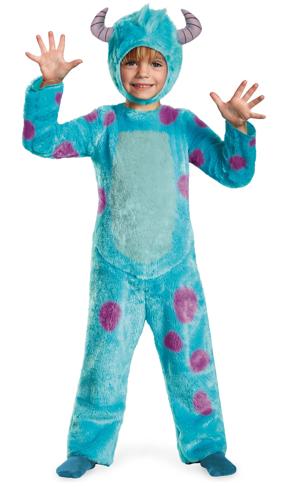Monsters University Sulley Deluxe Toddler / Child Costume 2T