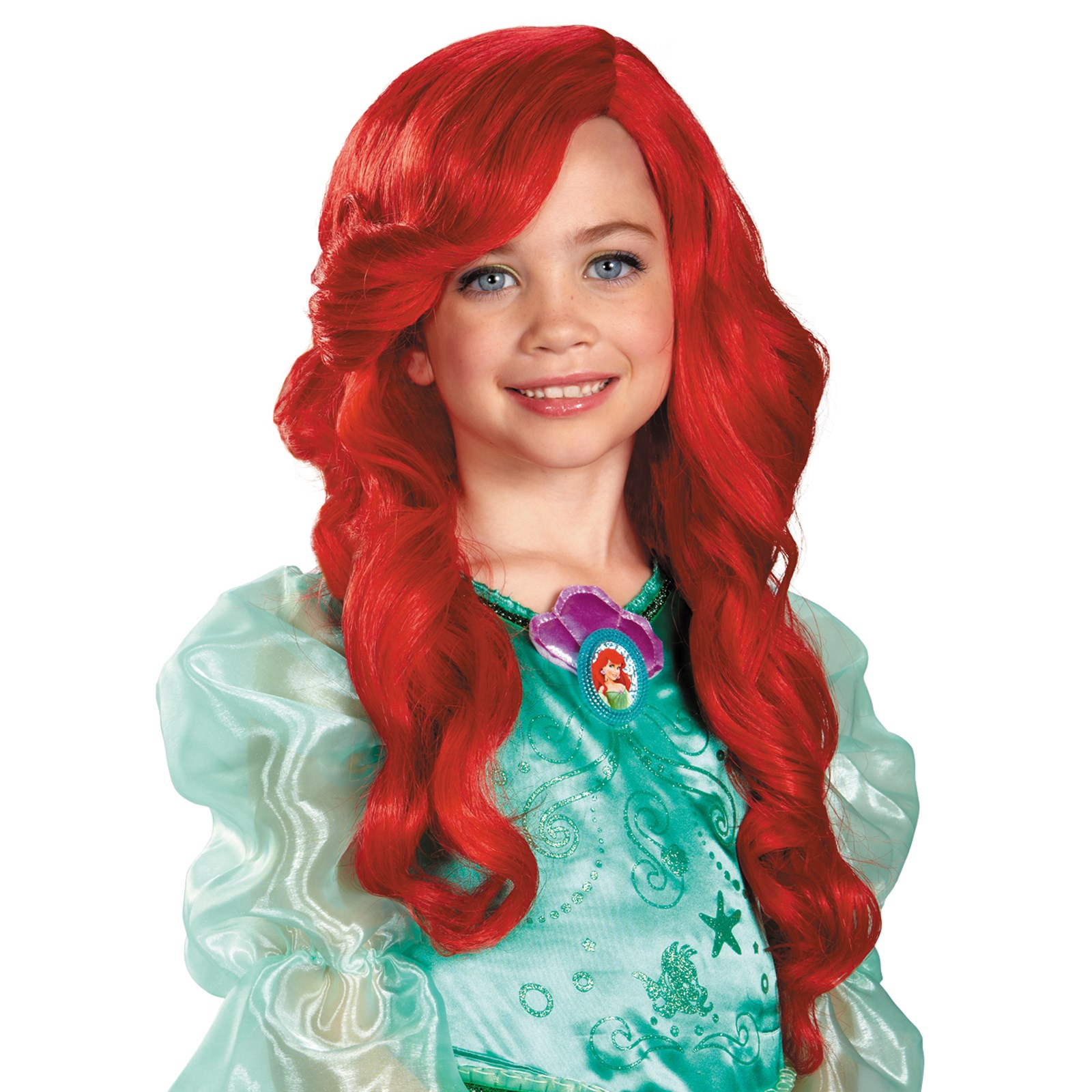 Disney Ariel Kids Wig One-Size