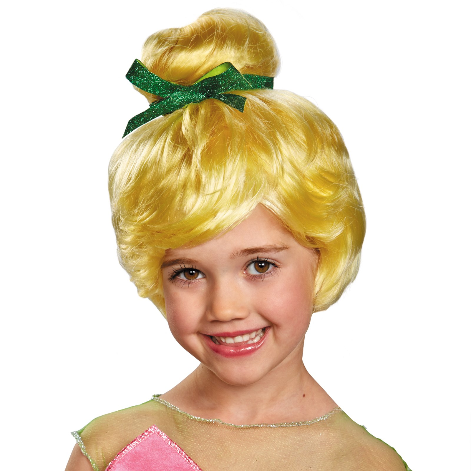 Disney Tinker Bell Kids Wig One-Size