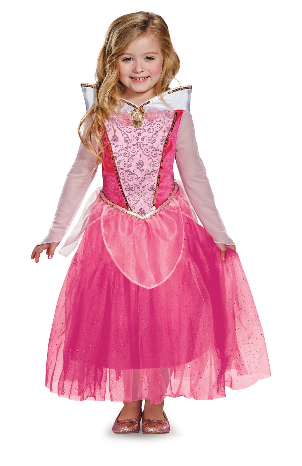 Disney Aurora Deluxe Sparkle Toddler / Child Costume 4-6