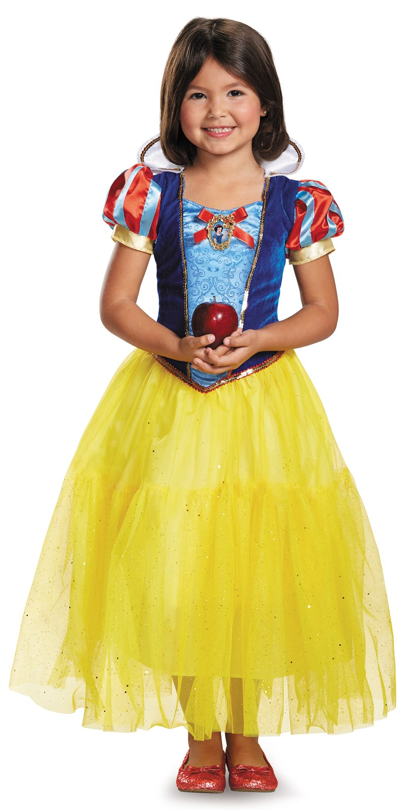 Disney Snow White Deluxe Sparkle Toddler / Child Costume 4-6