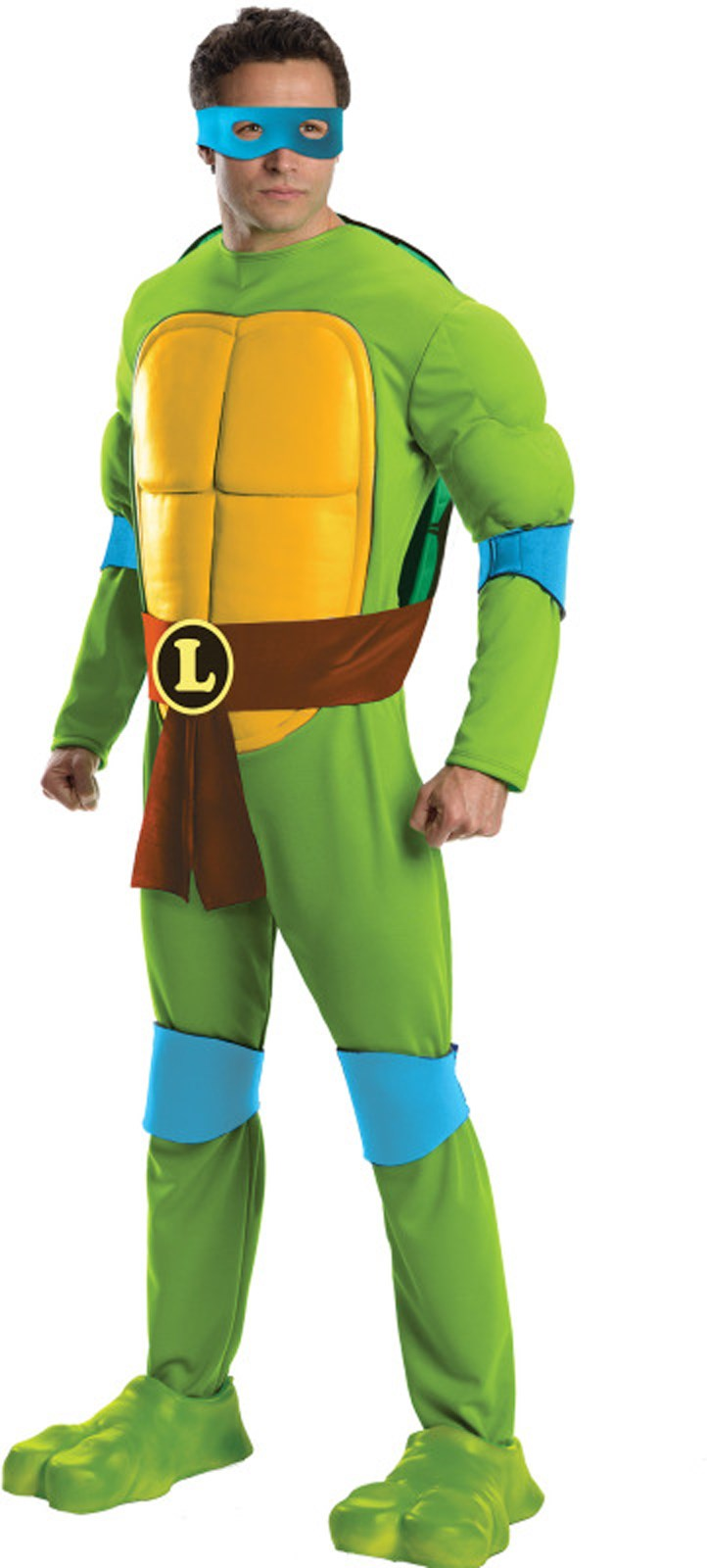 Teenage Mutant Ninja Turtles Deluxe Leonardo Adult Costume Standard (One-Size)