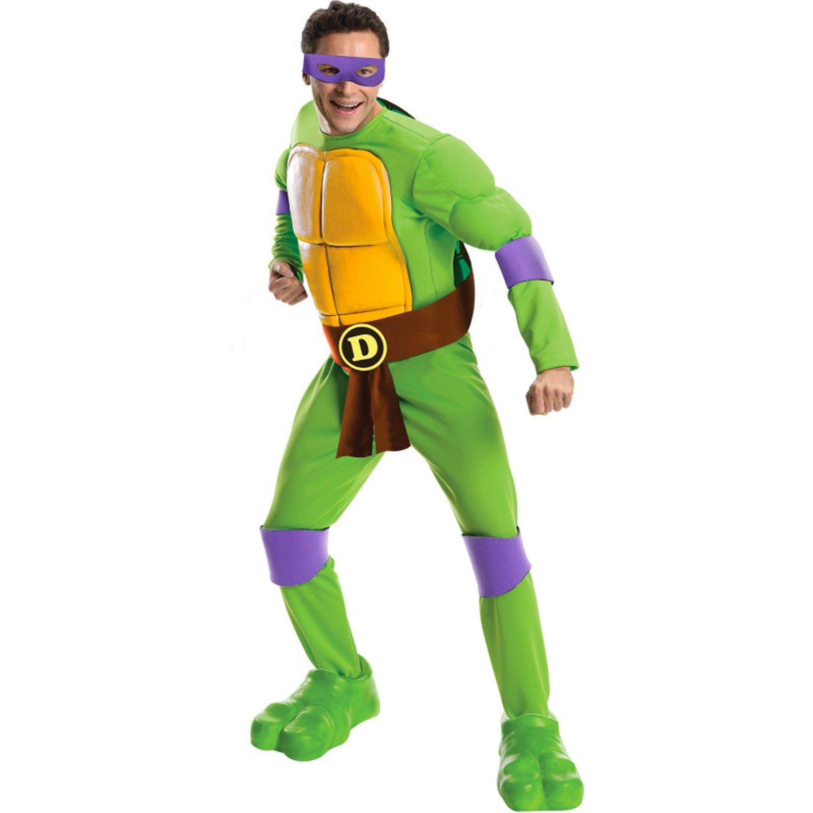 Teenage Mutant Ninja Turtles Deluxe Donatello Adult Costume Standard (One-Size)