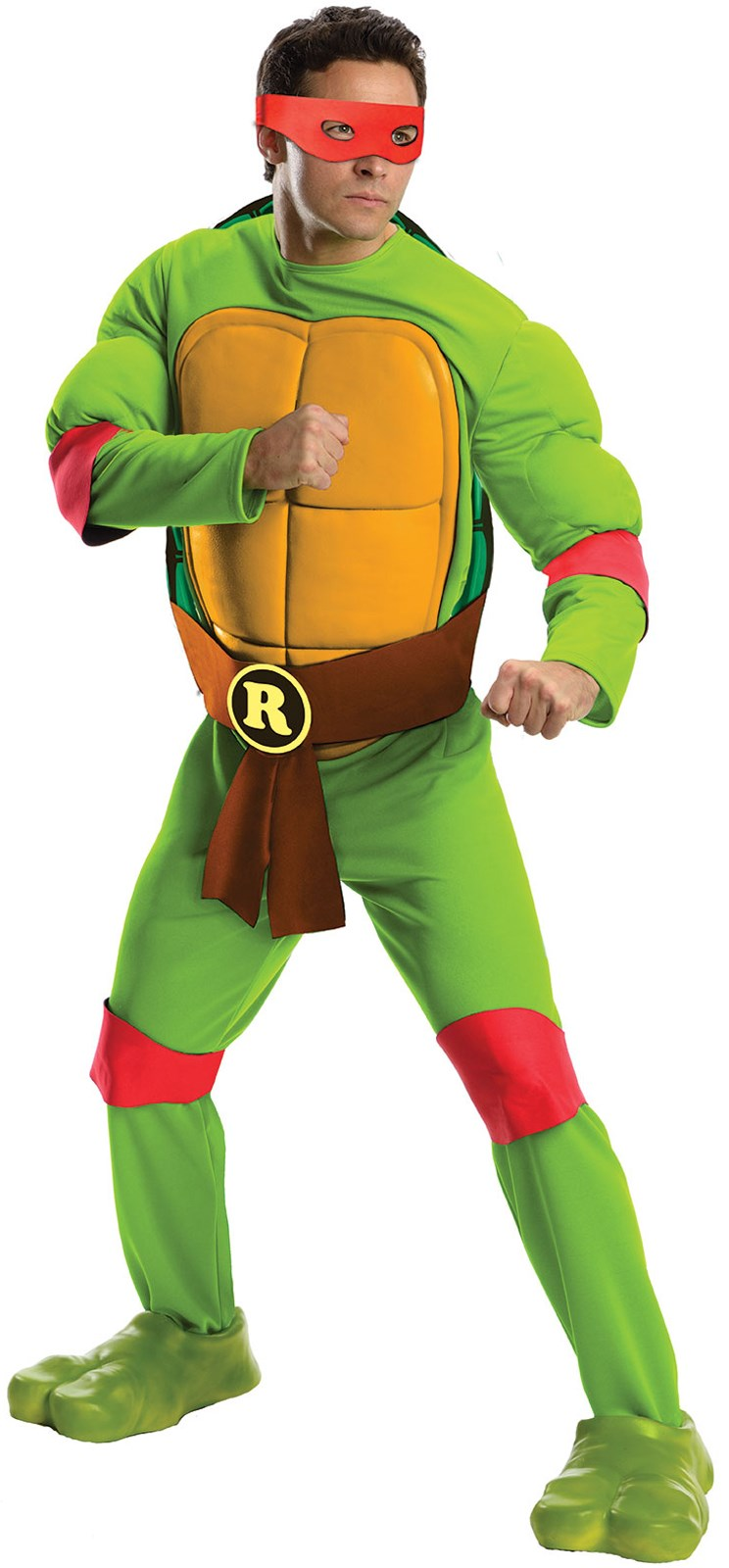 Teenage Mutant Ninja Turtles Deluxe Raphael Adult Costume Standard (One-Size)