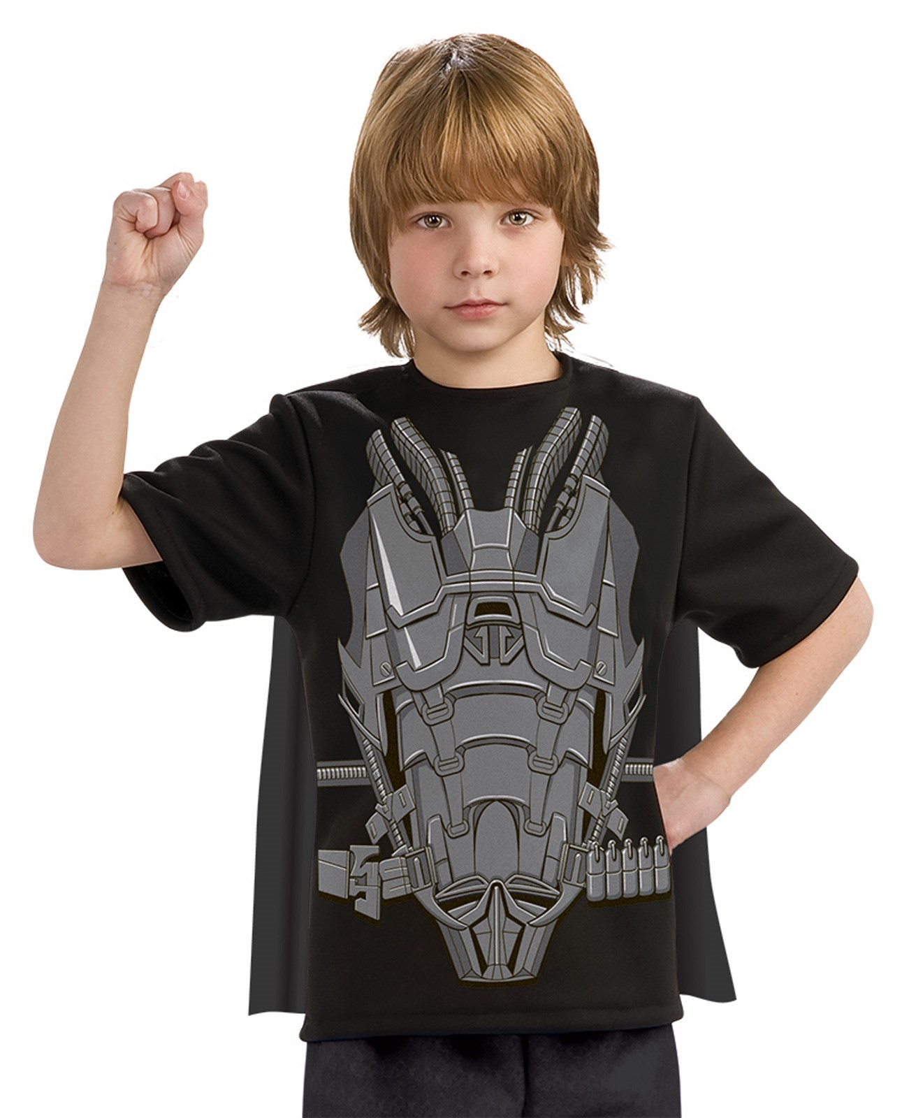 Superman Man of Steel General Zod Child Costume Top and Cape Small (4-6)