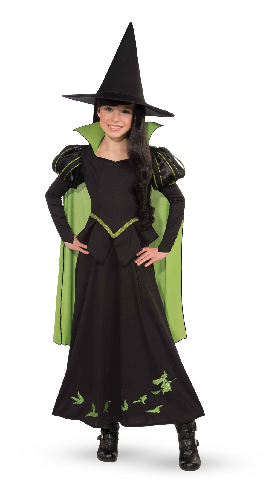 Wizard Of Oz-Wicked Witch Of The West Child Costume Medium (8-10)