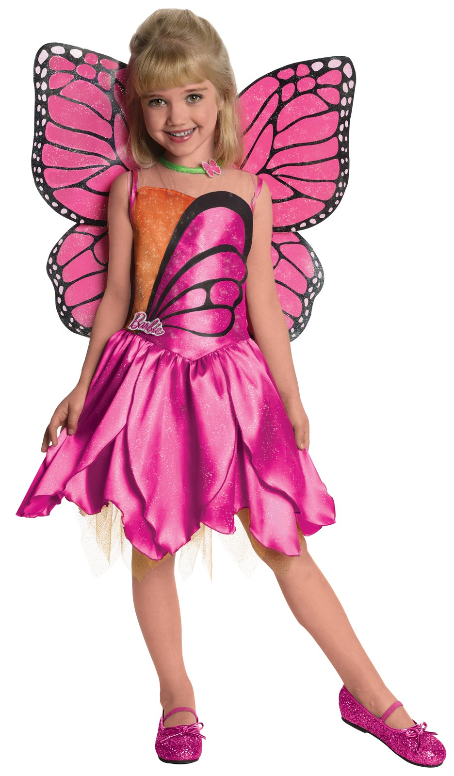 Image of Barbie-Deluxe Mariposa Toddler / Child Costume Toddler (2T-4T)