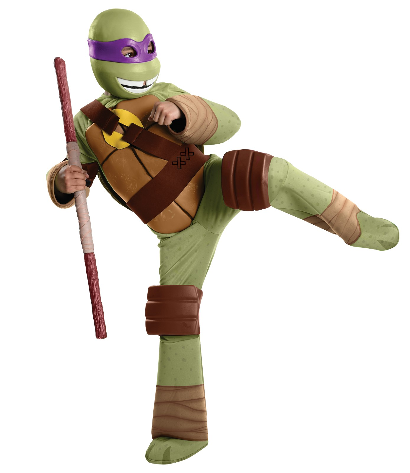 Teenage Mutant Ninja Turtle - Donatello Kids Costume Medium (8-10)