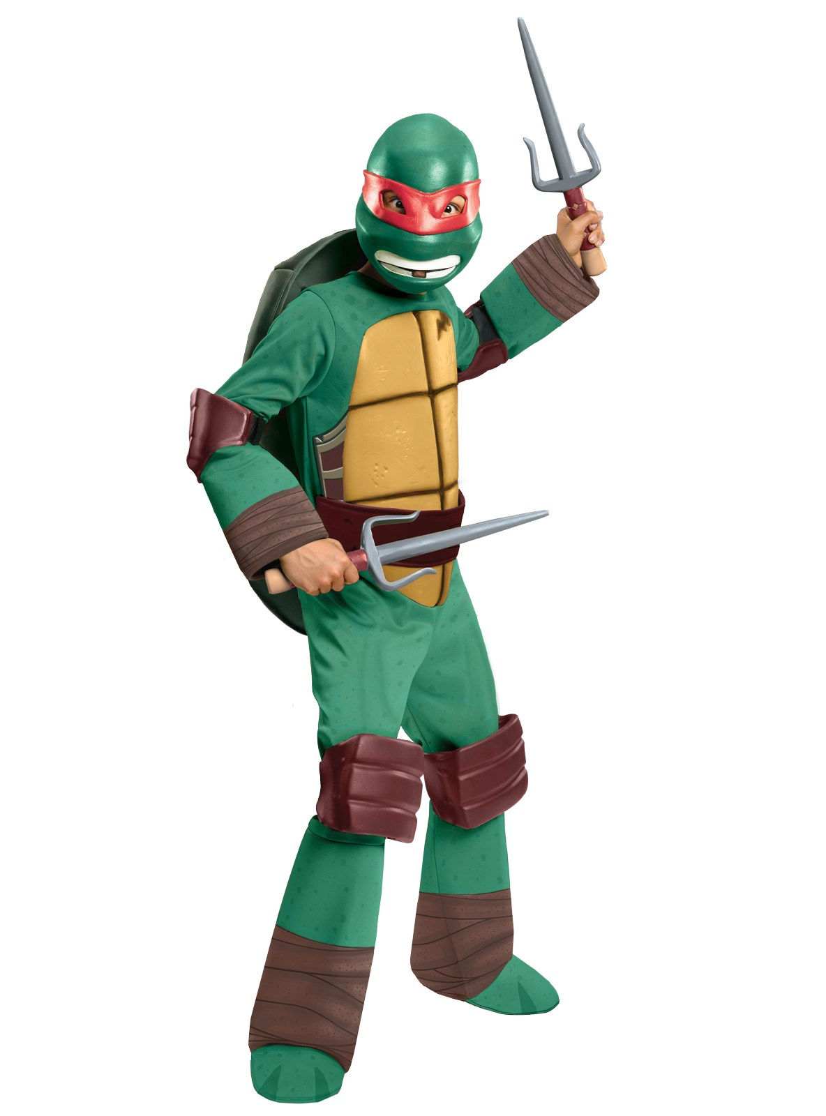 Teenage Mutant Ninja Turtle - Raphael Kids Costume Small (4-6)