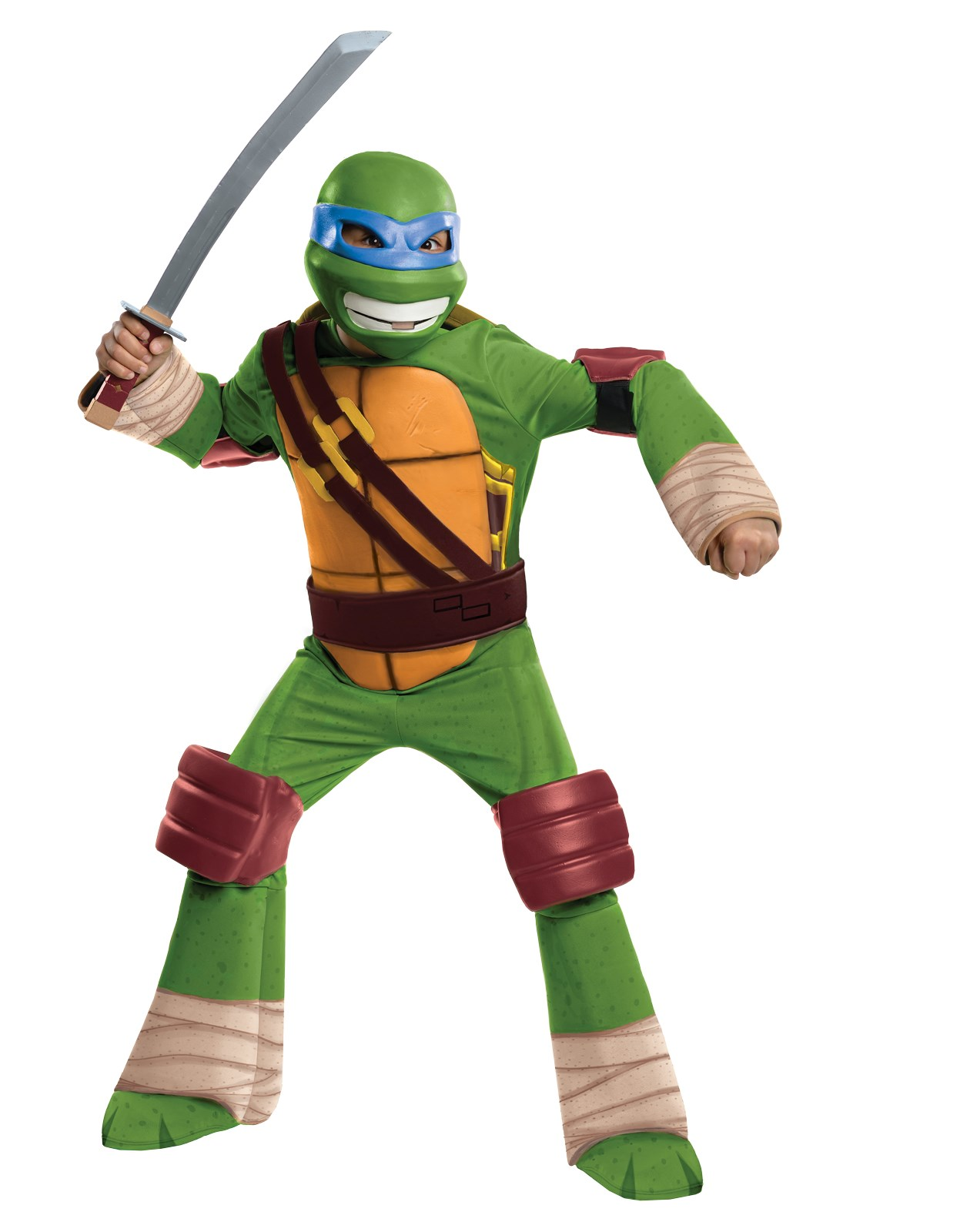 Teenage Mutant Ninja Turtle - Leonardo Kids Costume Large (12-14)