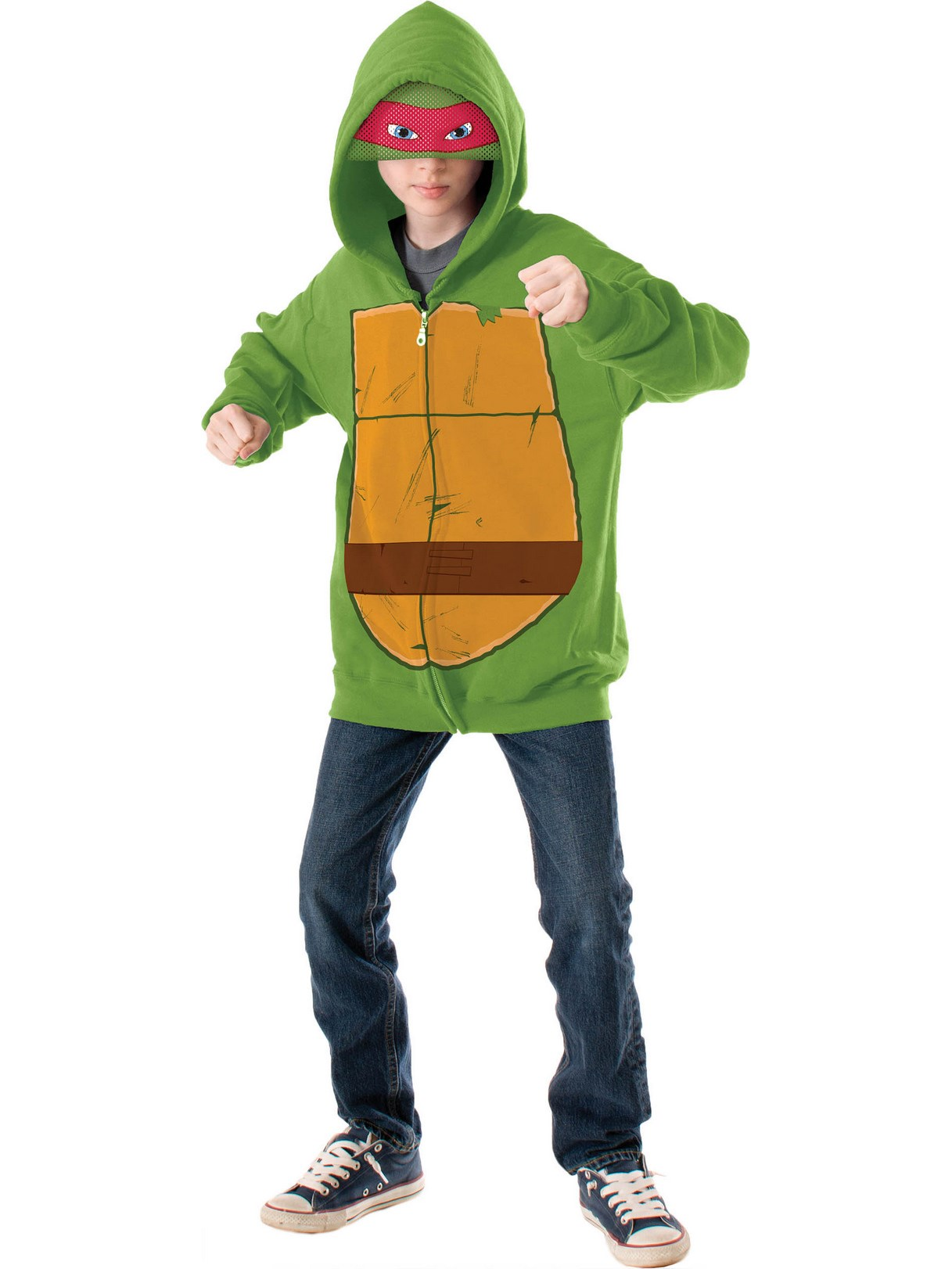 Teenage Mutant Ninja Turtle - Raphael Kids Hoodie Medium (8-10)