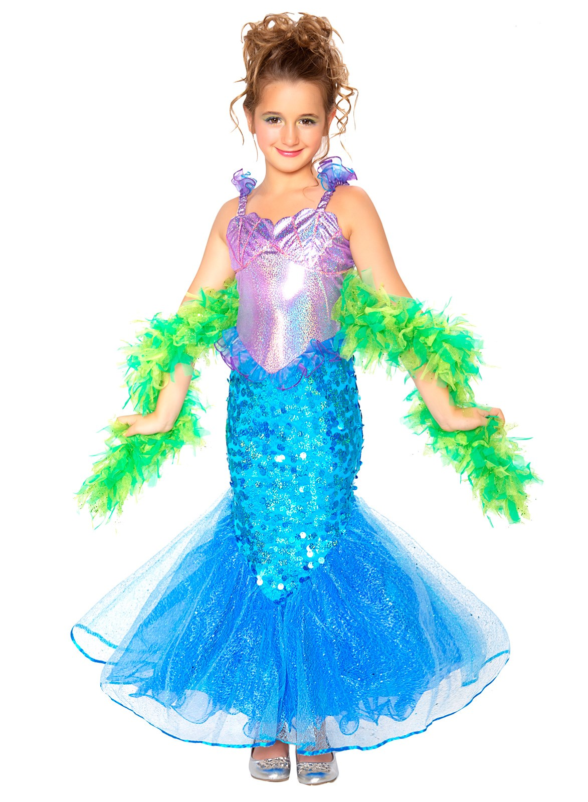 Mermaid Toddler / Child Costume Small (4-6)