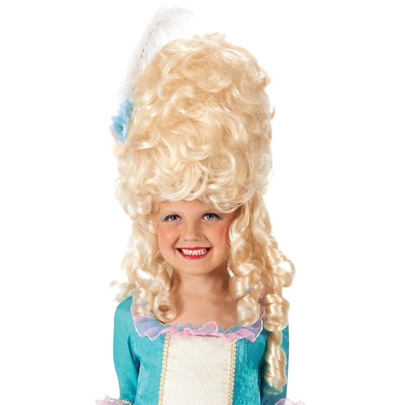 Marie Antoinette Kids Wig One-Size