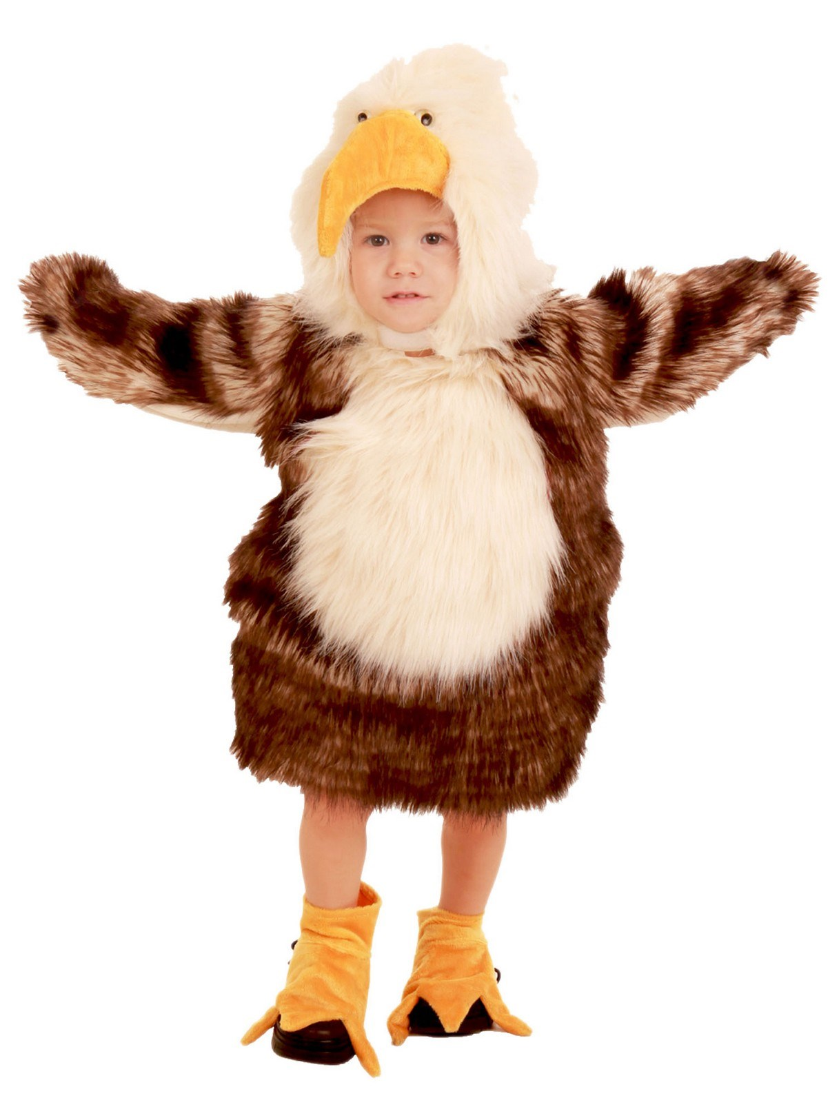 Image of Bald Eagle Toddler / Child costume X-Small (4)