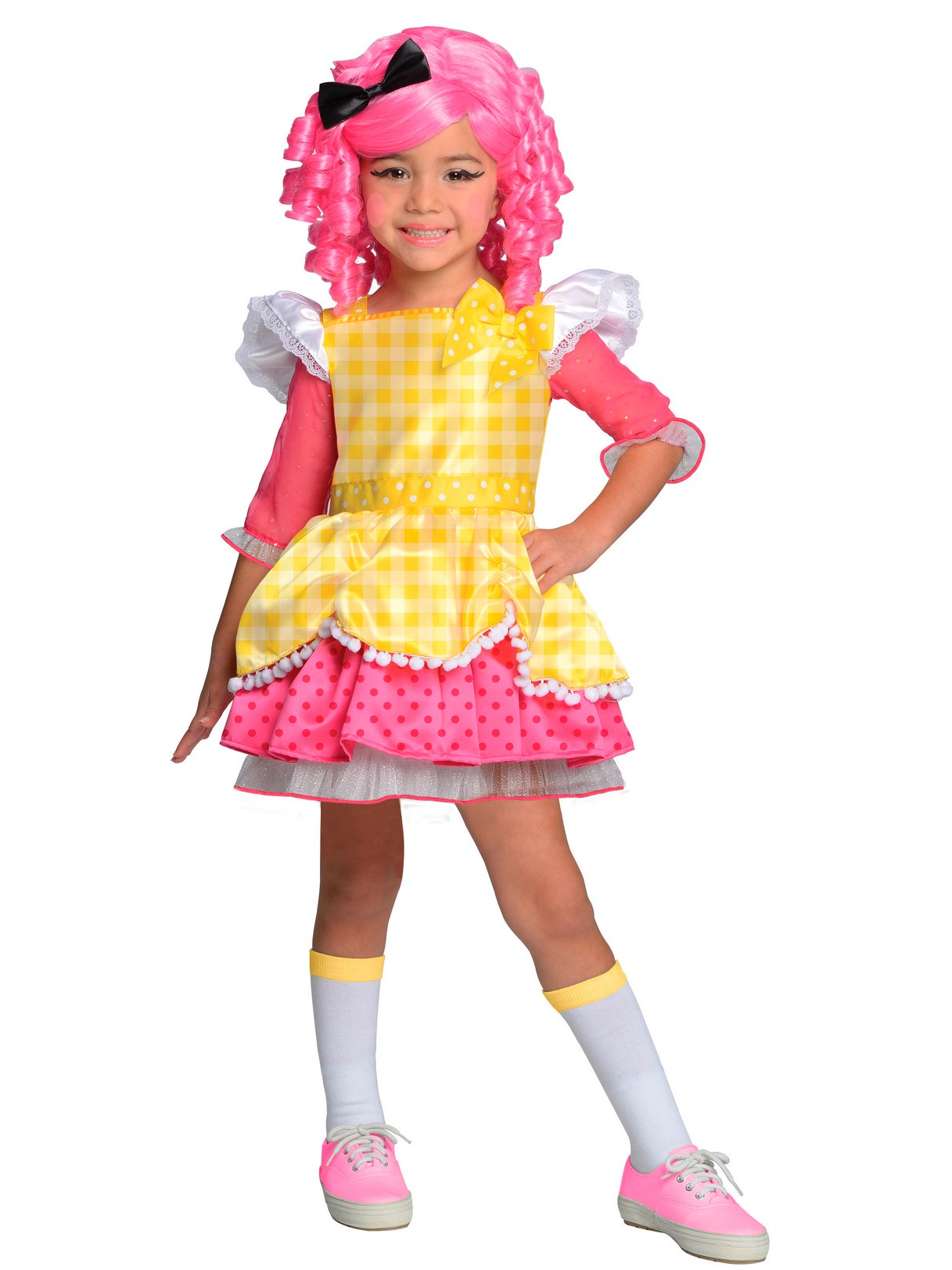 Lalaloopsy Deluxe Crumbs Sugar Cookie Toddler / Child Costume 8-10