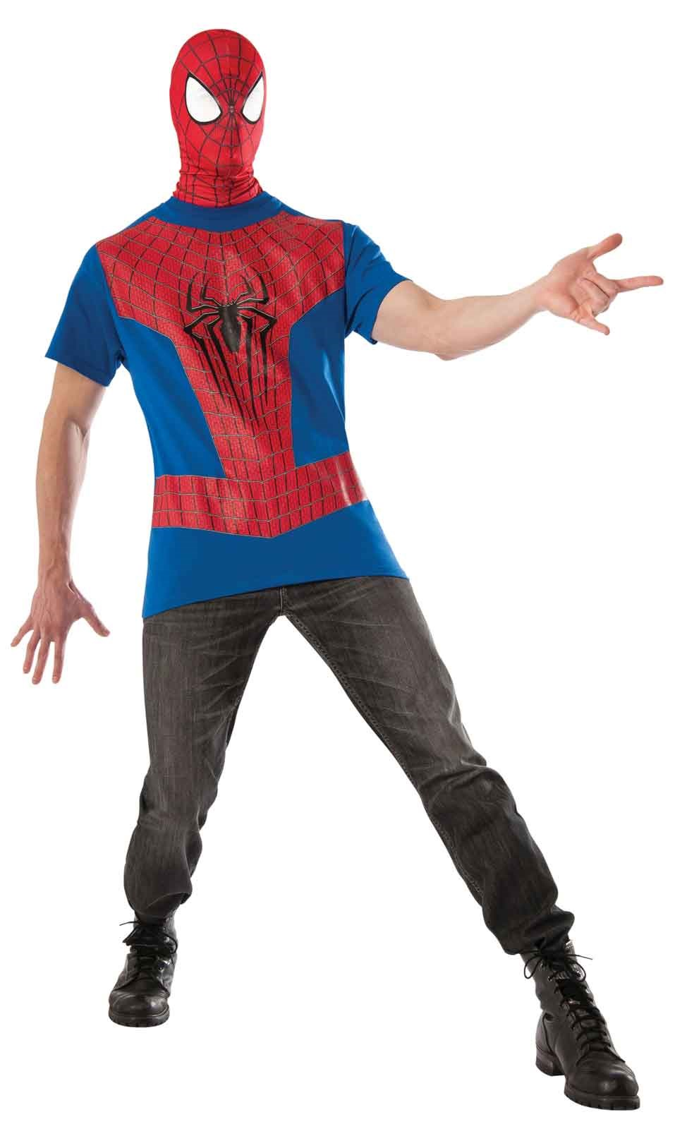 The Amazing Spider Man 2 Costume Kit Adult Medium