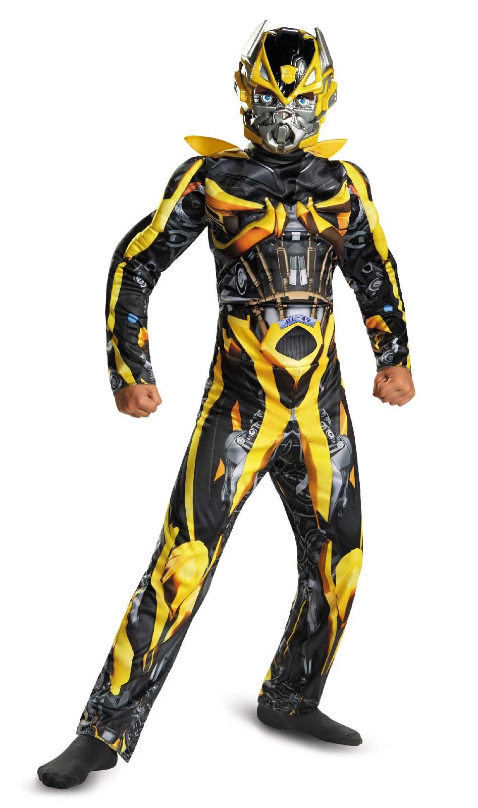 Transformers 4 Age of Extinction Bumblebee Muscle Child Costume Small (4-6)