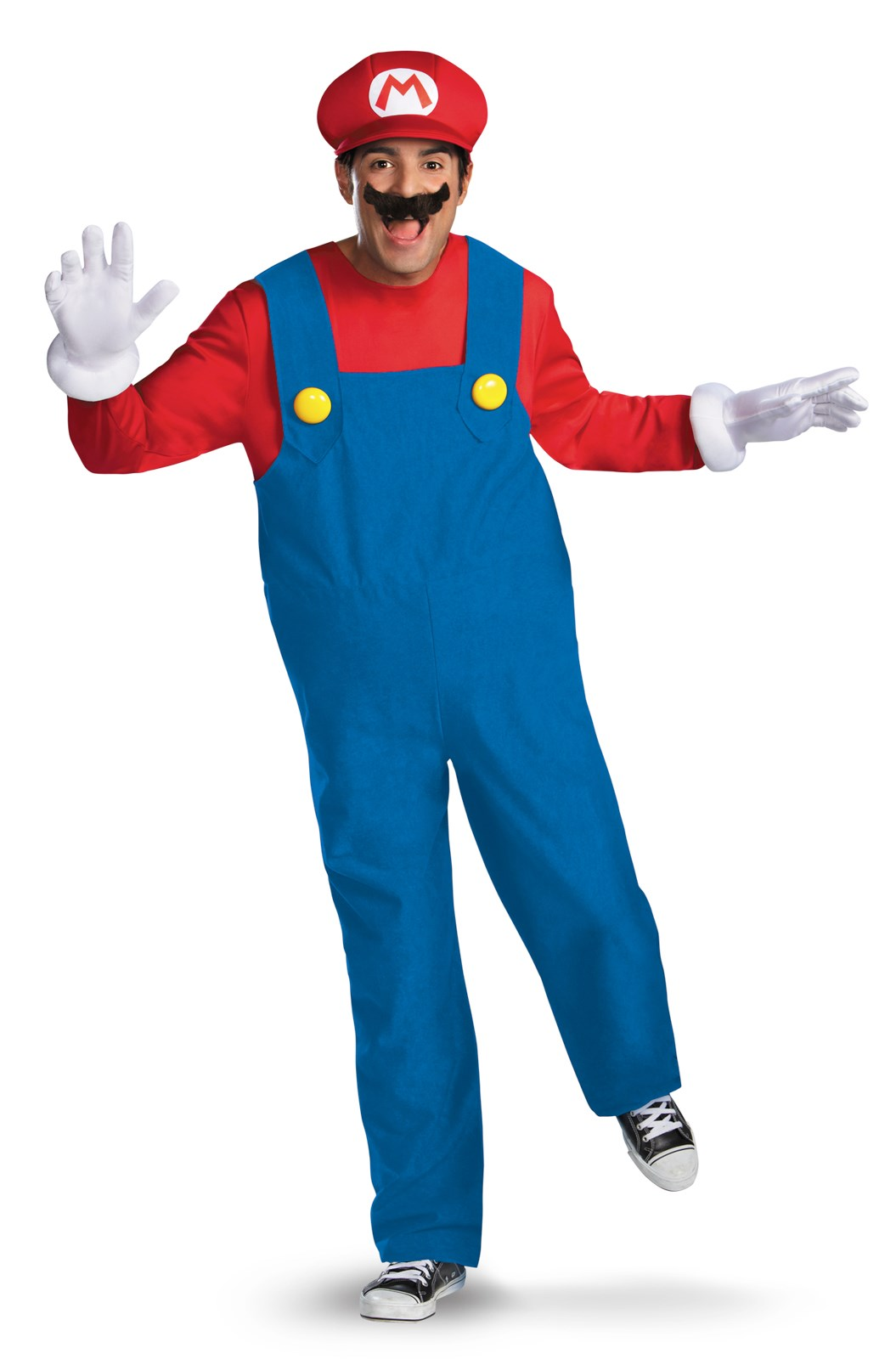 Super Mario Bros - Mario Costume X-Large (42-46)