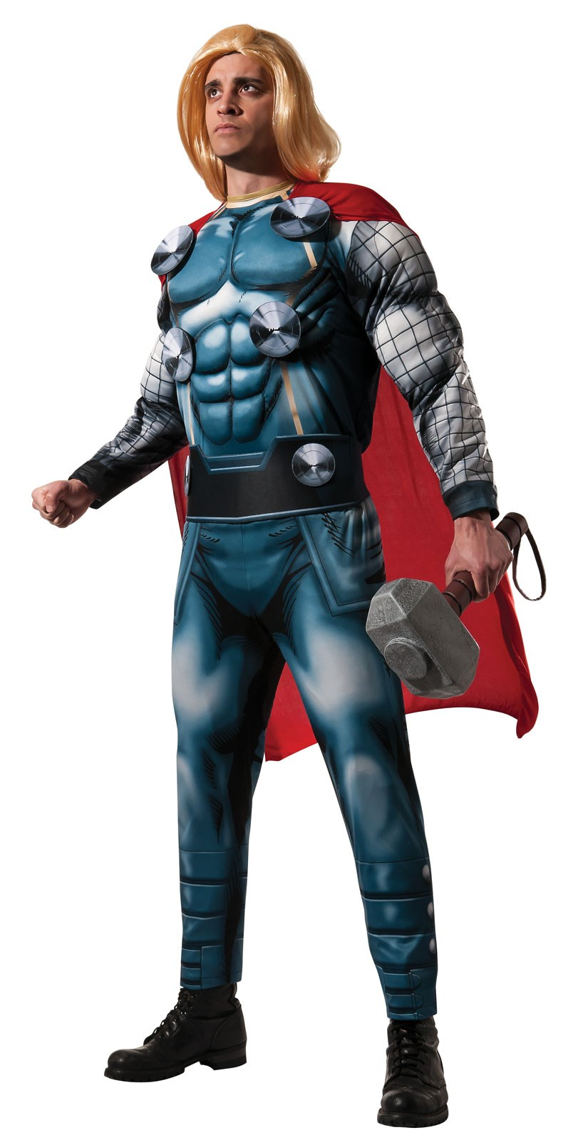 Marvel - Classic Deluxe Adult Thor Costume Standard One-Size