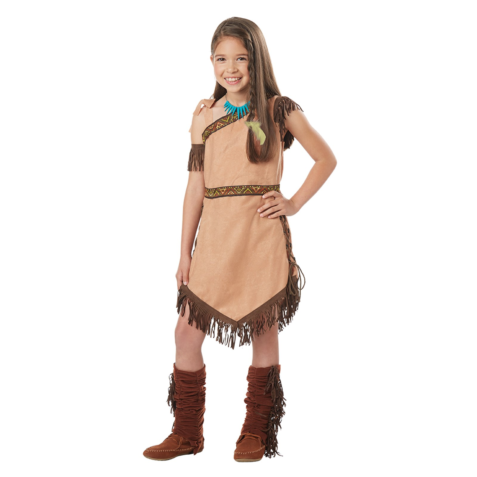 Native American Princess Girls Costume Small (6-8)