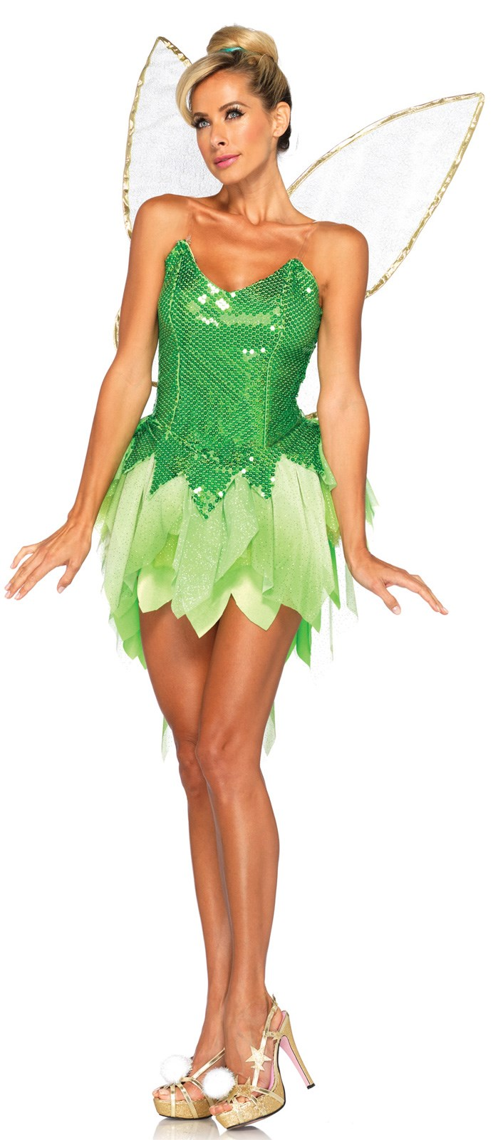 Disney Adult Pixie Dust Tinker Bell Costume Small