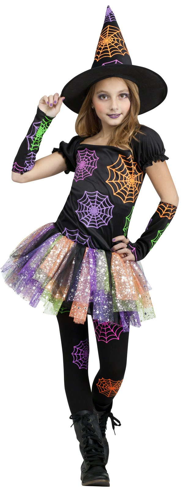 Wild Witch Girls Costume Small (4-6)