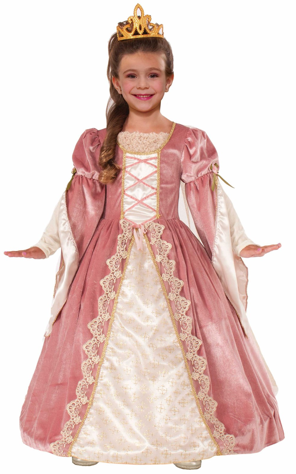 Victorian Rose Kids Dress Large (12-14)