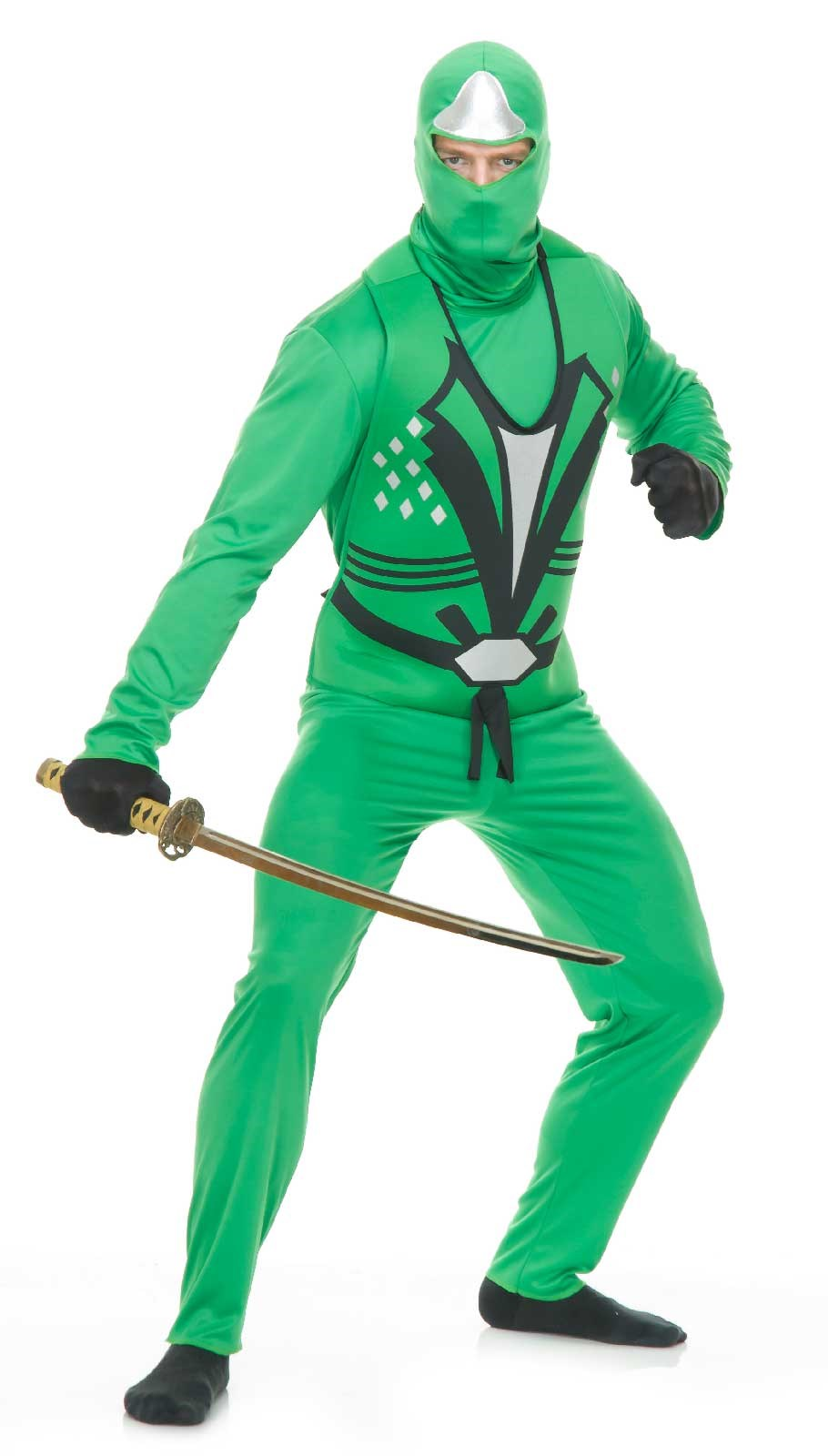 Green Ninja Adult Avengers Series II Costume Large