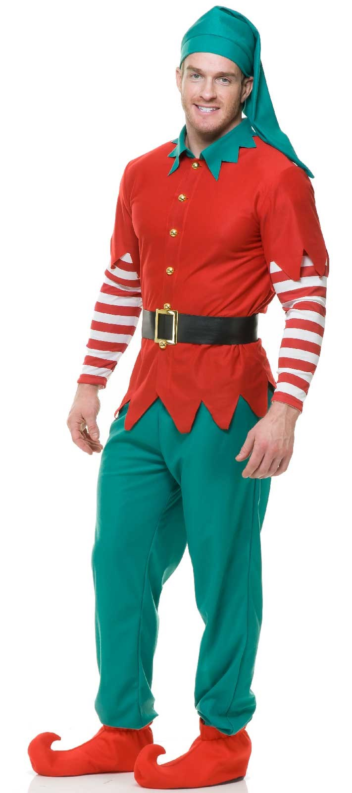 Christmas - Mens Elf Costume X-Large