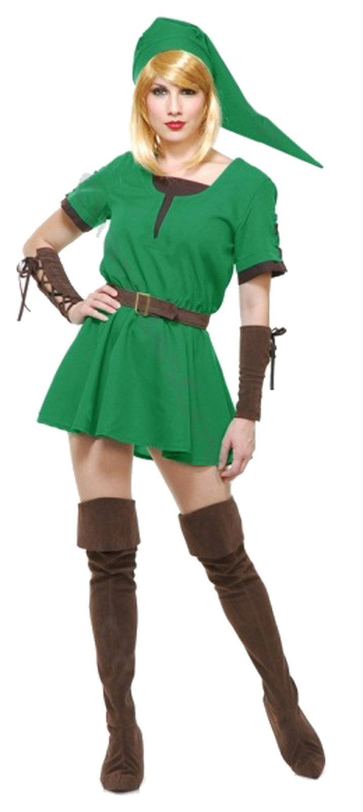 Warrior Elf Adult Princess Costume Small