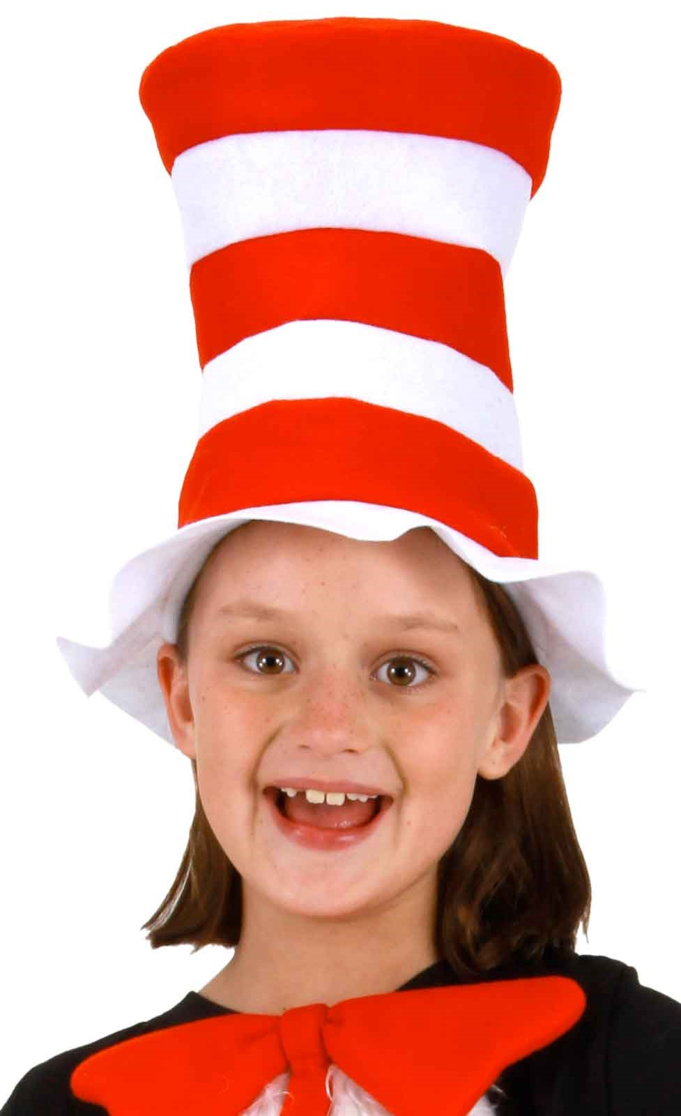Dr. Seuss The Cat in the Hat Kids Felt Hat Standard One-Size