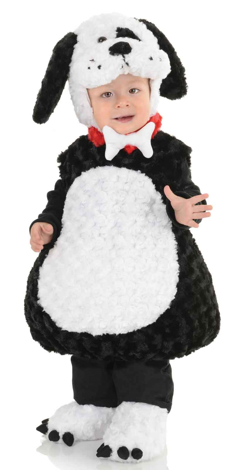Lil Black and White Puppy Toddler/Child Costume M (18-24 Months)