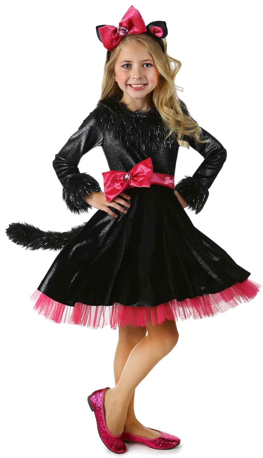 Deluxe Barbie Kitty Girls Costume X-Small (4)